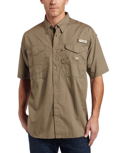 Columbia Men's Bonehead Short Sleeve Shirt,SAGE,4X