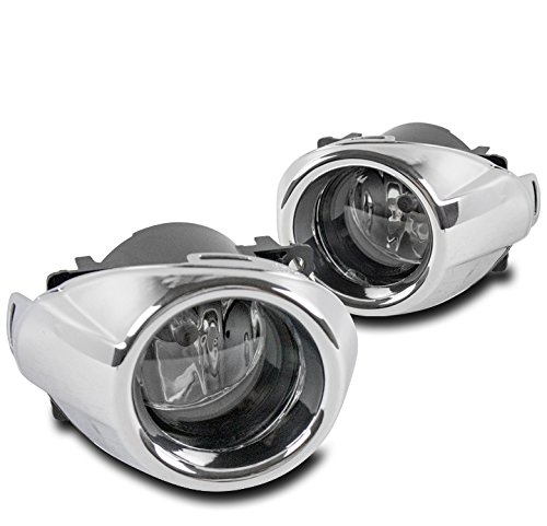 ZMAUTOPARTS 2012-2014 Ford Focus Bumper Driving Fog Lights Lamps Chrome ()