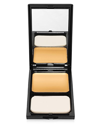 BUTTERCUP Compact Pressed Face Powder. Flash-Friendly, Oil-Absorbent, Matte, Natural-Coverage. Suitable for All Skin Tones. Translucent, 0.45 - Yellow Tone Based Skin