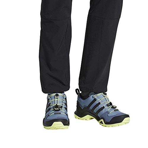 adidas outdoor Terrex Swift R2 GTX Womens Hiking Boots, Raw Grey/Black/Semi Frozen Yellow, -