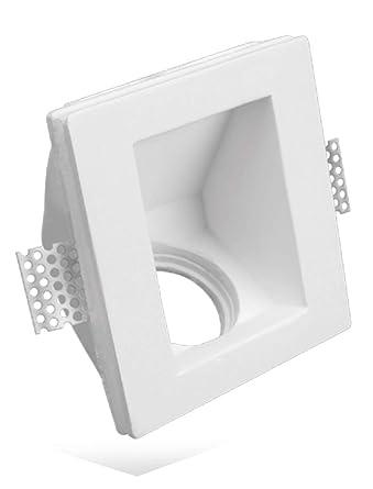 Puerta Foco cuadrado con ángulo de 45 ° de tiza Ceramico Totalmente PF7 Lote de 50