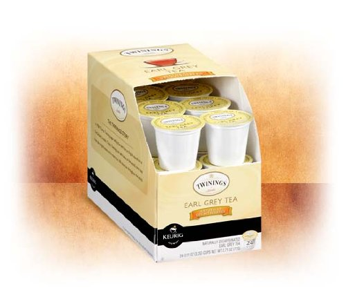 Twinings of London Naturally Decaffeinated Earl Grey Tea K-Cups by Twinings (Image #2)
