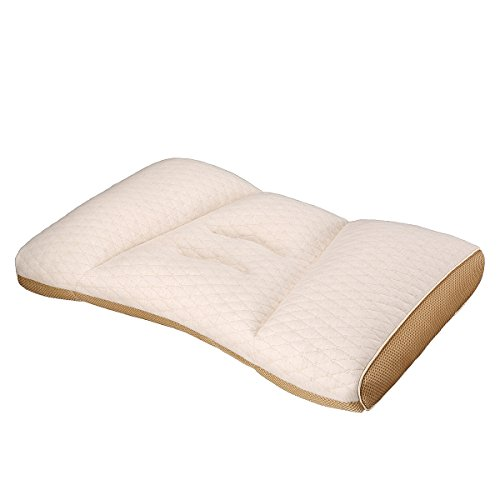 ZORALA Cervical Pillow for Sleeping-Adjustable Loft, Breathable Elastic Particles Filled, Relief for Neck Pain, Organic Cotton Quilted Shell by ZORALA