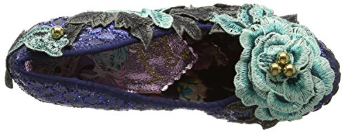 Irregular Choice Twist & Shout, Scarpe Col Tacco Donna Blue (Navy)