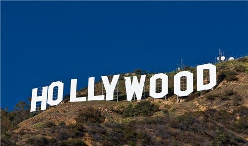 (HOLLYWOOD SIGN GLOSSY POSTER PICTURE PHOTO california walk fame hills)