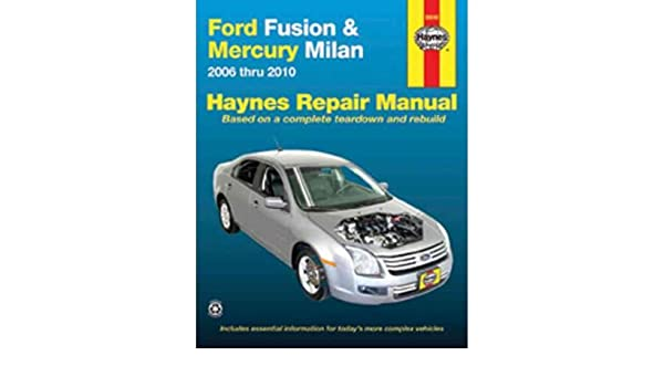 ford fusion 2010 repair manual