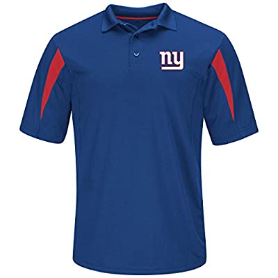 NFL New York Giants Adult men NFL Plus S/Synthetic Polo,3XT,Royal