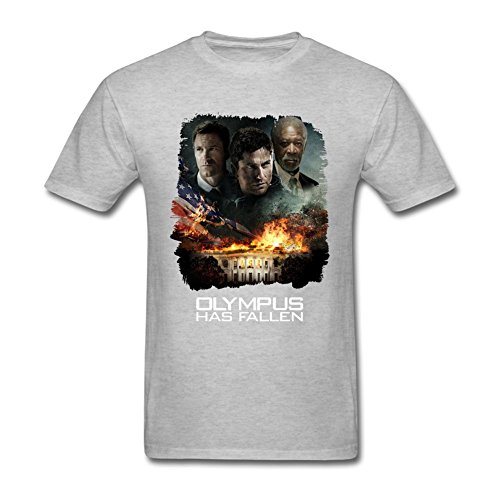 Blossom Men's Olympus Has Fallen Movie Poster Short Sleeve T shirt L