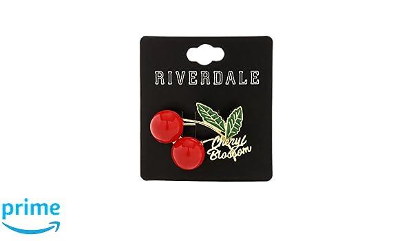 Amazon com: Riverdale Cheryl Blossom Red Cherries Brooch Pin Replica
