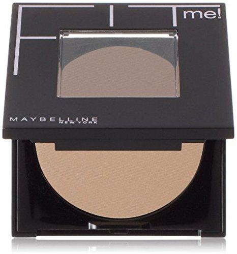 Maybelline New York Fit Me! Pressed Powder, Natural Beige [220] 0.30 oz (Pack of 2)