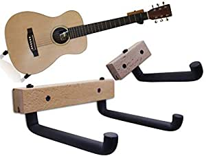 Amazon Com Horizontal Guitar Wall Hanger Tilt And Display