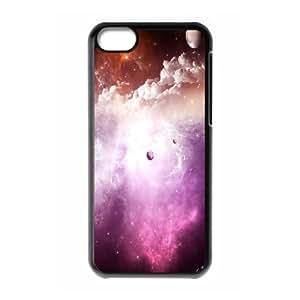 IPhone 5C Case Nebula, [Black]