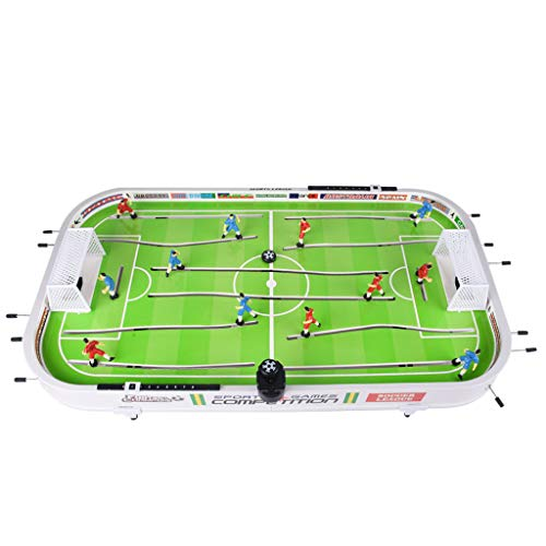 Price comparison product image Transser US Fast Shipment 38.4inch Foosball Table,  Indoor Mini Tabletop Billiard Game Accessories Soccer Tabletops Competition Games Indoor Soccer Game Table for Adults Kids (Green)