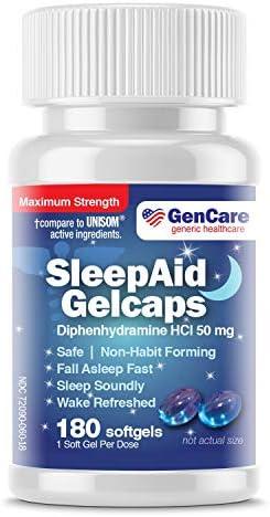 GenCare Nighttime Diphenhydramine Softgels Refreshed product image