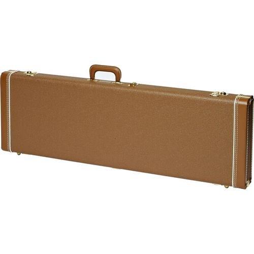 Fender Jazzmaster Hardshell Case Brown Gold Plush (Hardshell Case Brown Gold Plush)