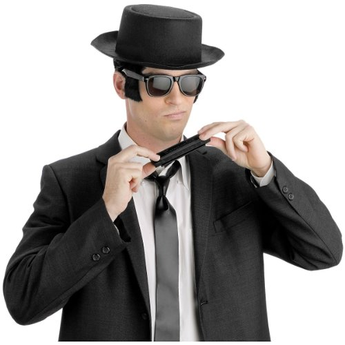 [Instant Blues Man Kit] (Blues Brothers Costume Hat)