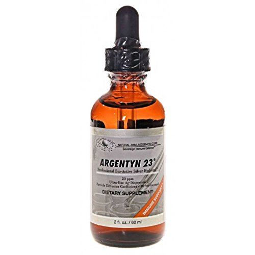 Argentyn 23 PPM Colloidal Silver Hydrosol (2 oz Travel Bottle)