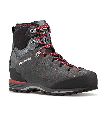 Stivali Dolomite Torq Gtx S Per Gli Uomini Alpini Gore-tex Grigio Grigio