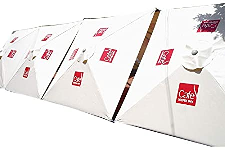Patio Umbrella (PVC Umbrella Printed - White)