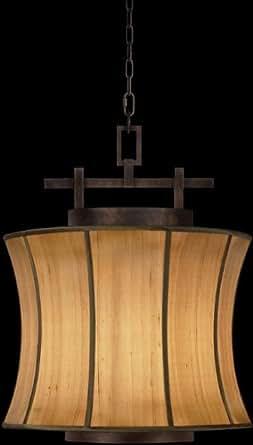 Fine Art Lamps 233449, Fusion Large Pendant, 1 Light, 200 Total Watts, Bronze