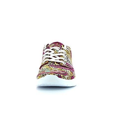 Vans - ISO 2 Plus, Zapatillas Unisex Adulto, Multicolor (Leopard/Paisley/Fuchsia), 37 EU