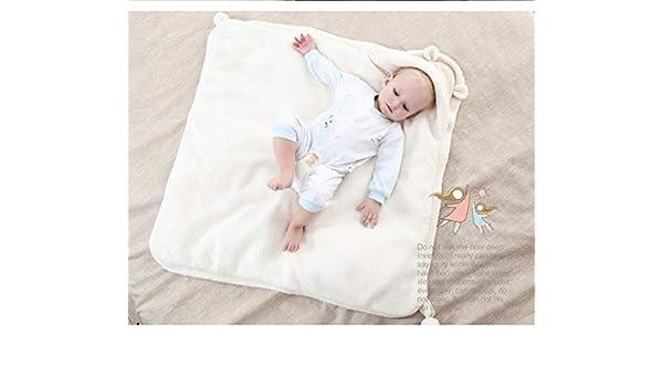 Colcha de algodón para recién nacido, cordero de cachemira ...