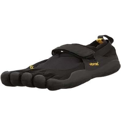 Vibram Fivefingers KSO Water Shoes (Black-Black-Black, 41 M) - M148
