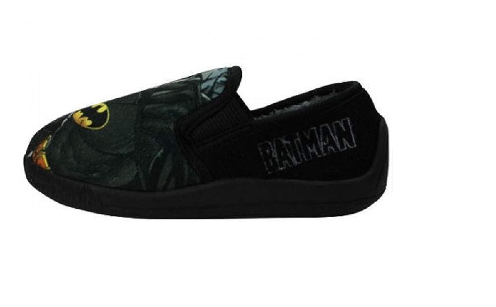 Boys Batman Character Slippers Sizes Infant 7 8 9 10 11 12 13 1 Comfortable House Wear Slip On