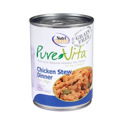 Tuffys Pet Foods Pure Vita Grain Free Chicken Stew Dog Food, 1 Count, One Size For Sale