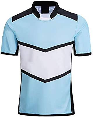 RENDONG NFL Hombres Camiseta Rugby Nueva Zelanda NRL Tiburón Rugby ...