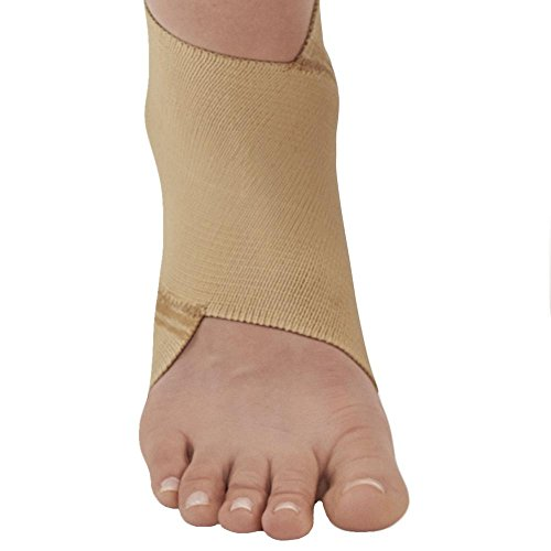Ames Walker AW Figure 8 Elastic Ankle Support Beige XLarge - Figure-8 design that conforms to the anatomy of the ankle joint - Support for weakened ankles - Improve circulation to promote healing by Ames Walker (Image #6)