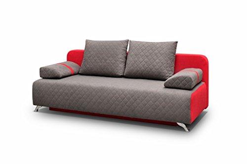 mb-moebel Couch mit Schlaffunktion Sofa Schlafsofa ...