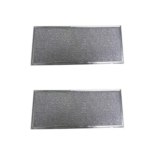MaxLLTo 2-Pack Aluminum Mesh Grease Filter for 71002111 Jenn Air Hood Vents Filter Replacement Part Number 71002111 AF4334