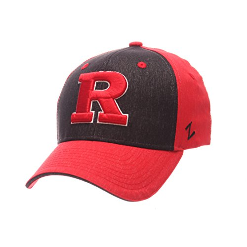 NCAA Rutgers Scarlet Knights Boys Challenger Cap, Youth, Heathered Team Color