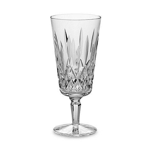 Waterford Crystal Lismore Tall Platinum Iced Beverage #101658 Set of 4, 14oz.