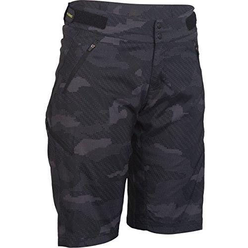 ZOIC Navaeh Camo Short + Essential Liner - Women's Digi Camo, XS (Spandex Woodland Shorts)