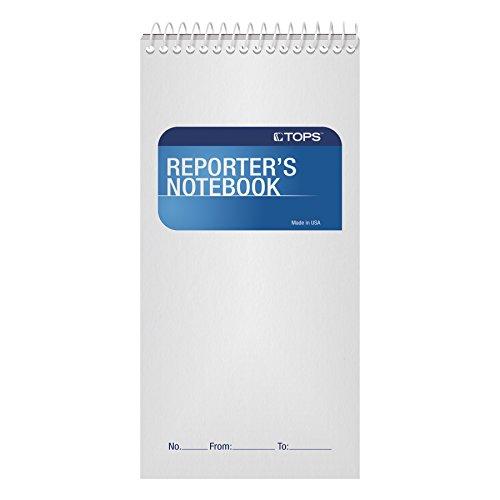 TOPS Reporter's Notebooks, 4