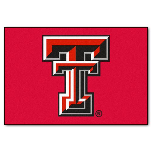 Texas Tech Rug - FANMATS NCAA Texas Tech University Red Raiders Nylon Face Starter Rug