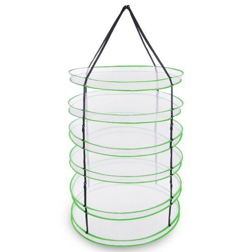 Hanging Drying Rack for Plants and Herbs with 6 Layers of De