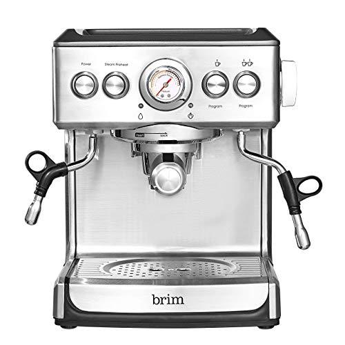 Brim 19 Bar Espresso Maker For Home Baristas, Coffee Connoisseurs & Artisans