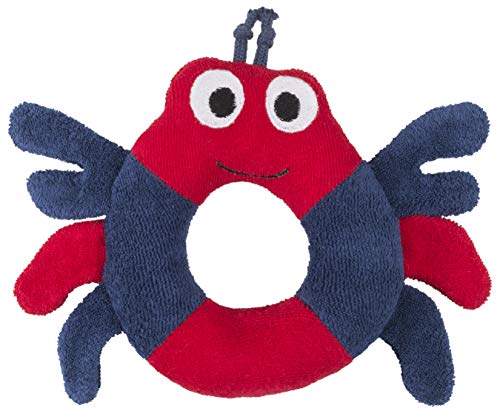 Under the Nile Organic Cotton Stuffed Crab Ring Baby Unisex Toy