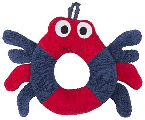 Nile Organic Bear - Under the Nile Organic Cotton Stuffed Crab Ring Baby Unisex Toy
