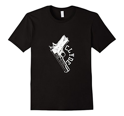 Mens Bonnie and Clyde T Shirt Couples Halloween Matching Costume 2XL (Clyde Halloween Costume)