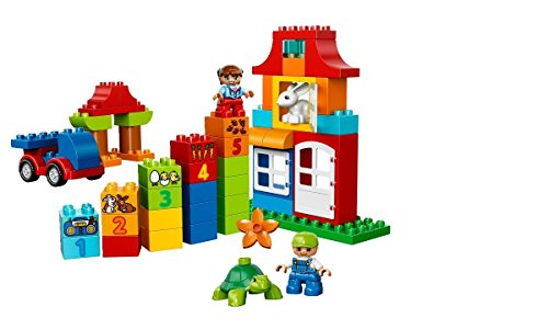 LEGO DUPLO Deluxe Box of fun 10580 Preschool Creative Play Toy