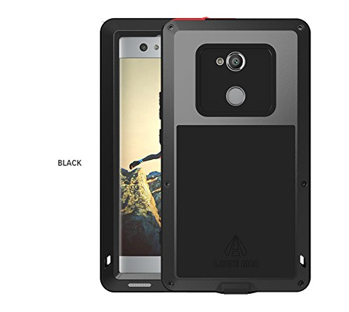 100% authentic 9aae5 d8b7a Love Mei Sony Xperia XA2 Ultra Waterproof Case, Outdoor Heavy Duty Armor  Waterproof/Shockproof Dust/Dirt Proof Aluminum Metal Case Cover for Sony ...