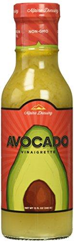 Alpine Avocado Vinaigrette Salad Dressing Made with 100% Olive Oil | Non GMO, Gluten ()