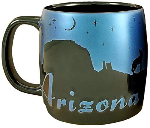 Americaware SMARI04 Arizona 22 oz Night Sky Silhouette Mug