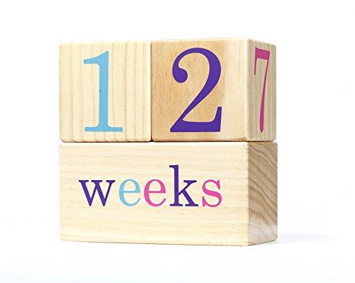 [해외]BB 블록 - 유아 나이 사진 블록 주간 월간 및 연년 사진 지금 등급 / BB Blocks Cotton Candy: Baby Age Photo Blocks (Weekly, Monthly and Yearly Pictures Now with Grade)