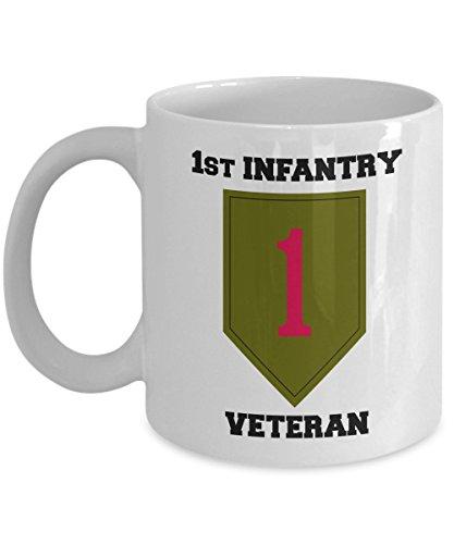 (1st Infantry Division Coffee Mug - 1st ID Veteran)