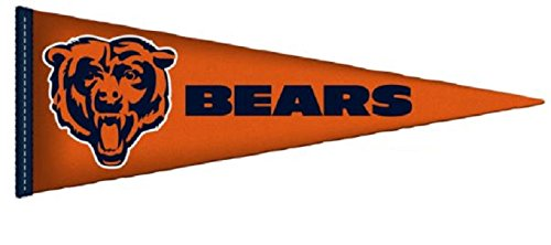 FATHEAD Chicago Bears Team Pennant Logo NFL Official Vinyl Wall Graphic 38